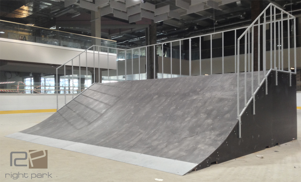 Скейт-парк для роллердрома ТРЦ «Порт City» Луцк