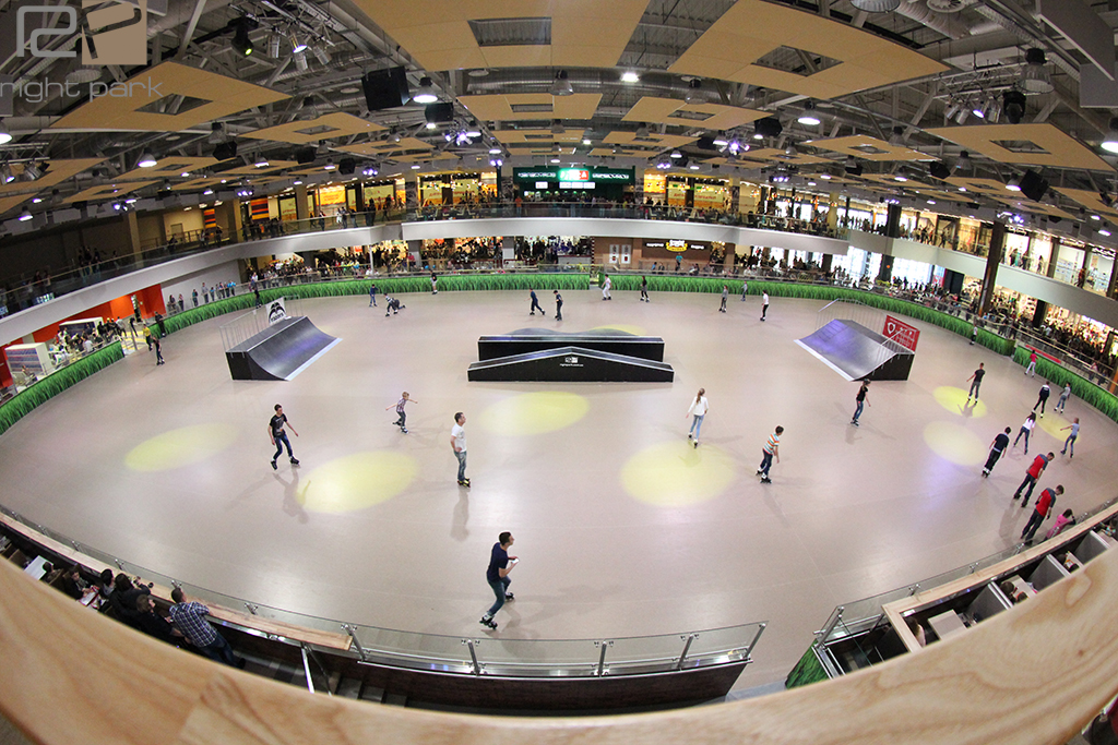 Скейт-парк ТРЦ Порт City Луцк - 9