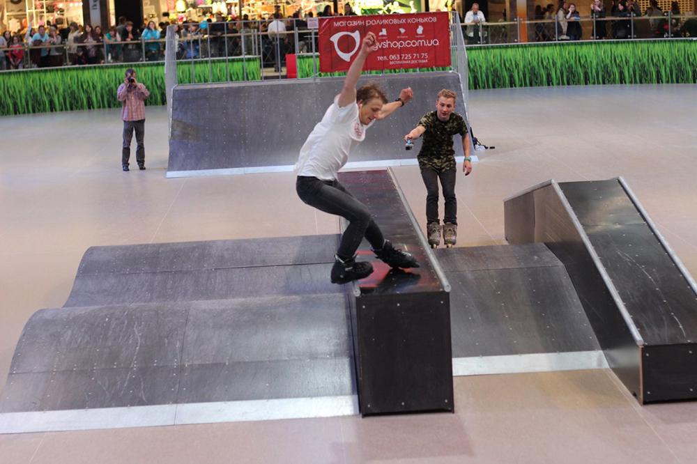 Отчет с открытия скейт-парка для роллердрома ТРЦ Порт City Луцк - 13