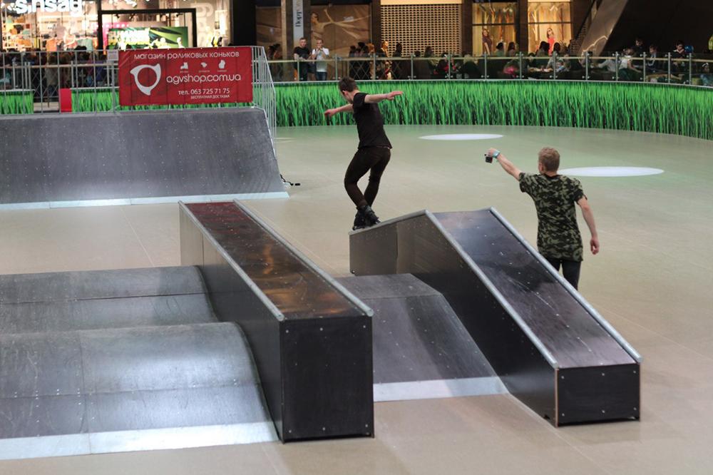 Отчет с открытия скейт-парка для роллердрома ТРЦ Порт City Луцк - 16