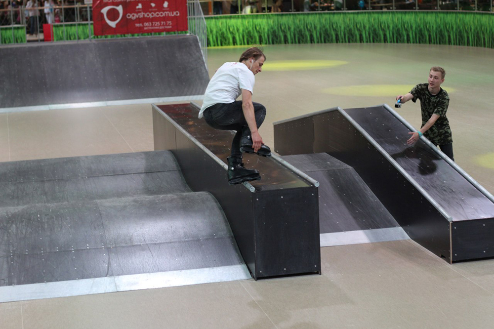 Отчет с открытия скейт-парка для роллердрома ТРЦ Порт City Луцк - 17