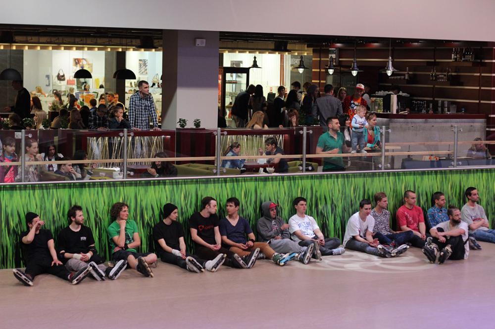Отчет с открытия скейт-парка для роллердрома ТРЦ Порт City Луцк - 19