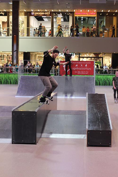 Отчет с открытия скейт-парка для роллердрома ТРЦ Порт City Луцк - 3