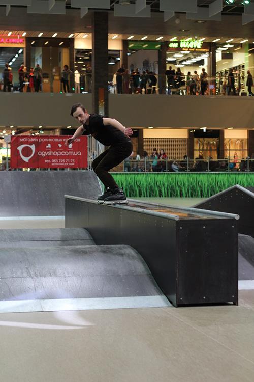 Отчет с открытия скейт-парка для роллердрома ТРЦ Порт City Луцк - 8