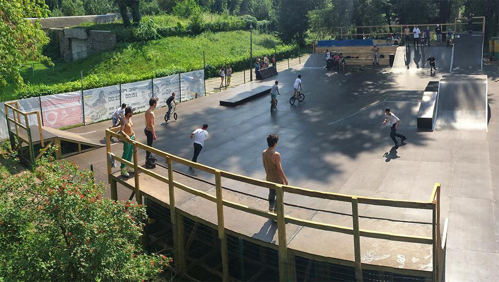 Скейт-парк T.Roll Park Киев