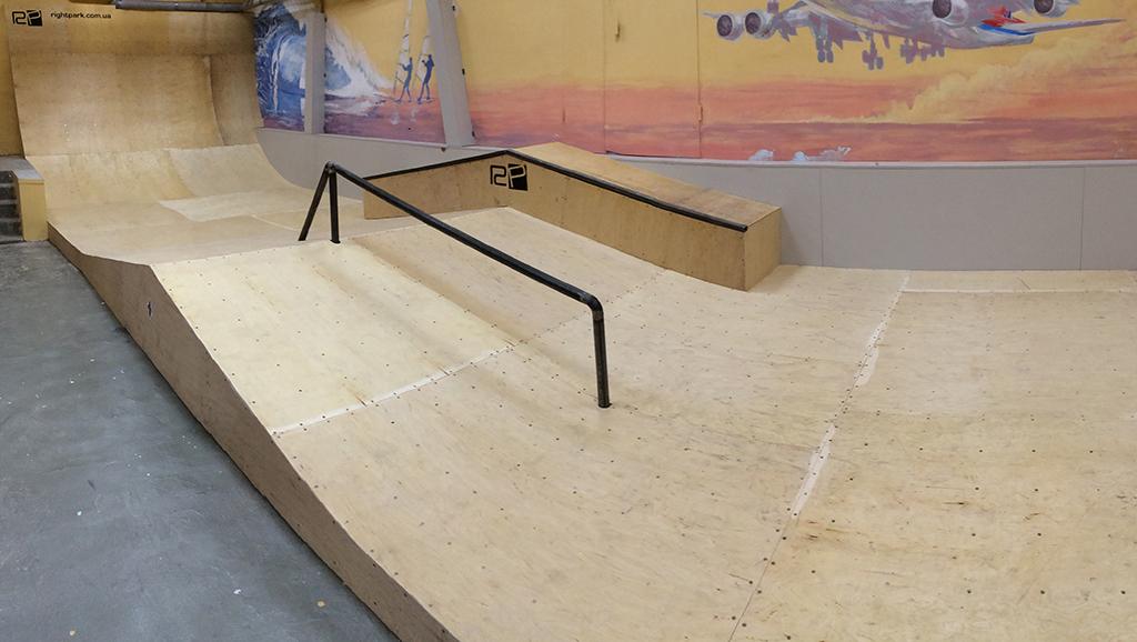 Скейт парк для своими руками