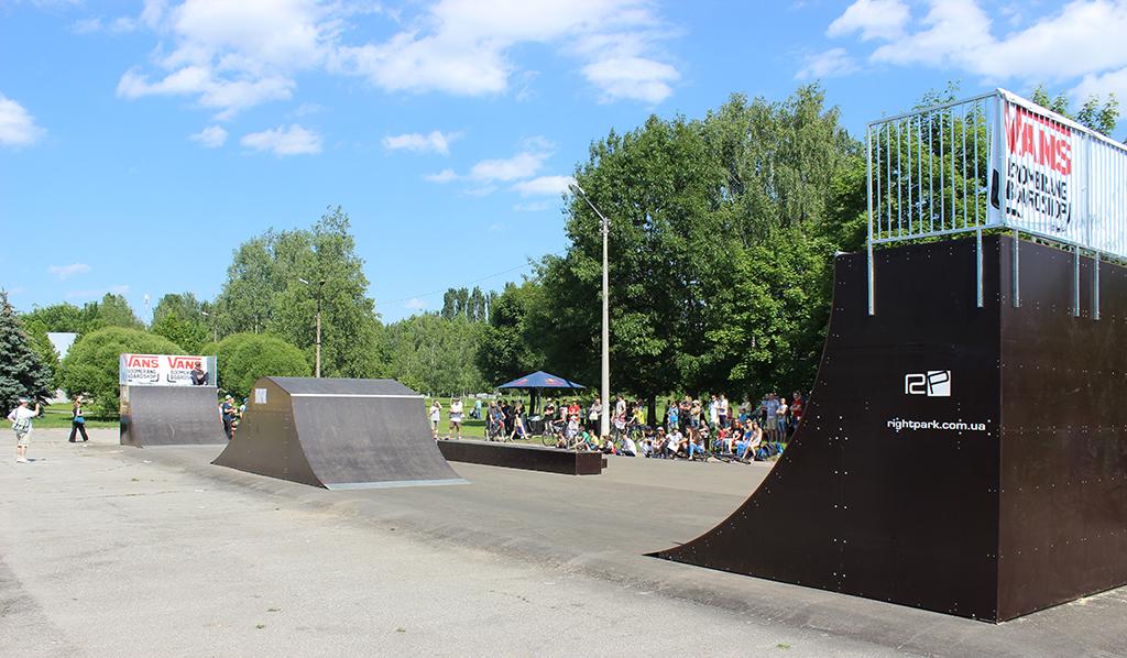 Скейт-парк Бровары 1