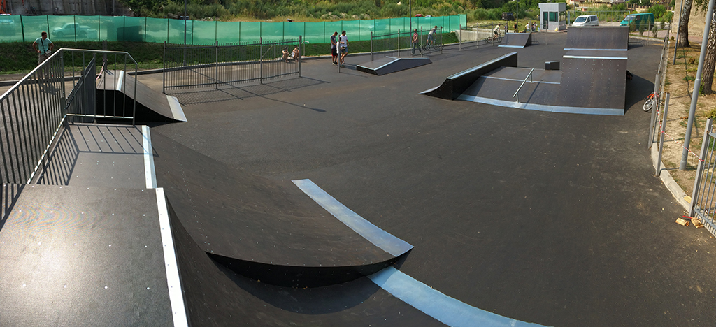 Скейт-парк ТРК Сити Парк Луцк 1