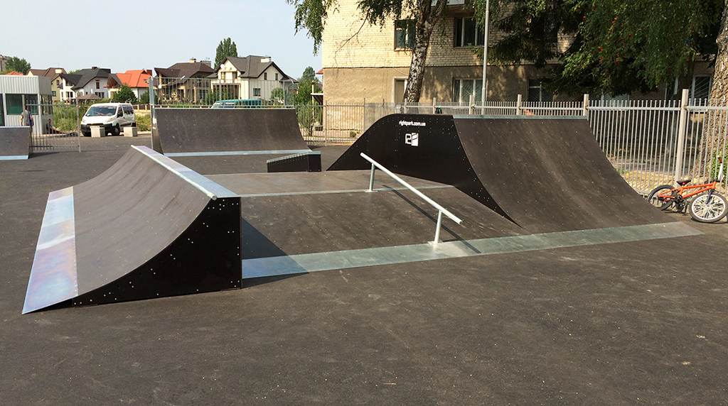 Скейт-парк ТРК Сити Парк Луцк 2
