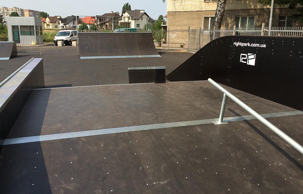 Скейт-парк ТРК Сити Парк Луцк 5