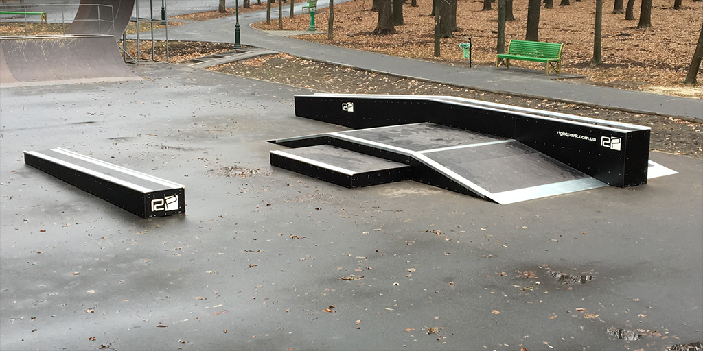 Реконструкция скейт-парка в парке Горького Харьков - 2
