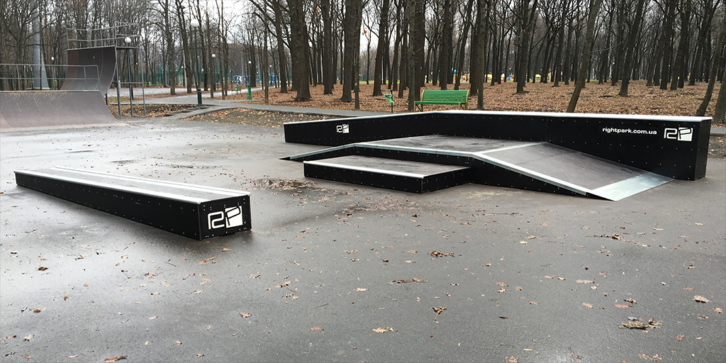 Реконструкция скейт-парка в парке Горького Харьков - 5