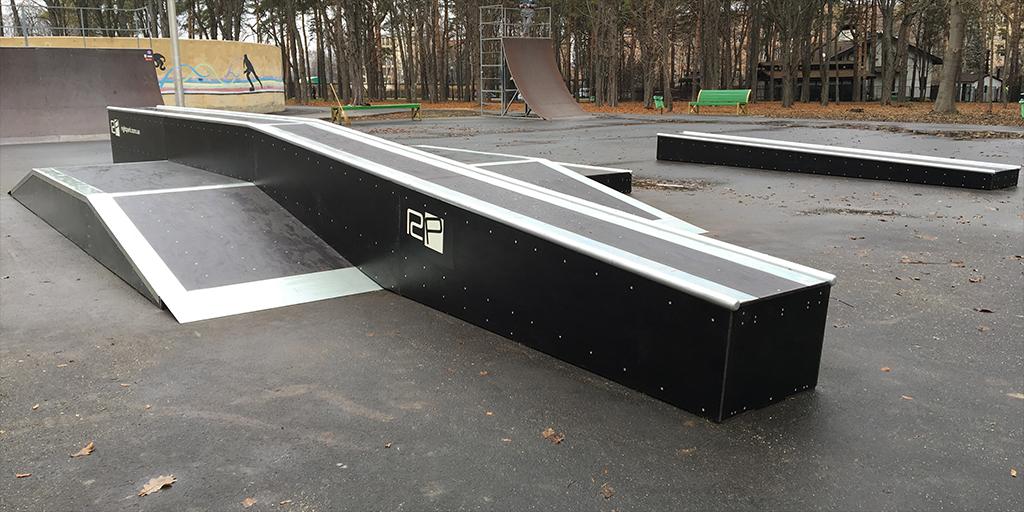 Реконструкция скейт-парка в парке Горького Харьков - 7
