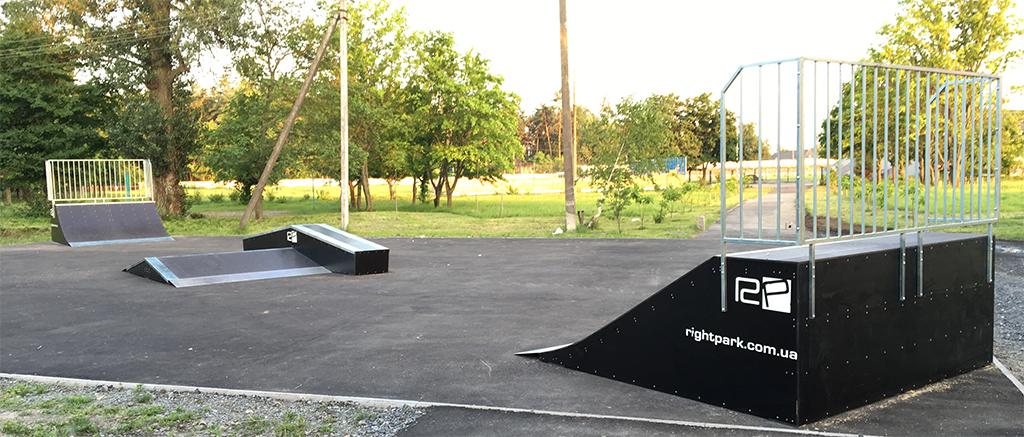 Скейт-парк Миргород - 1