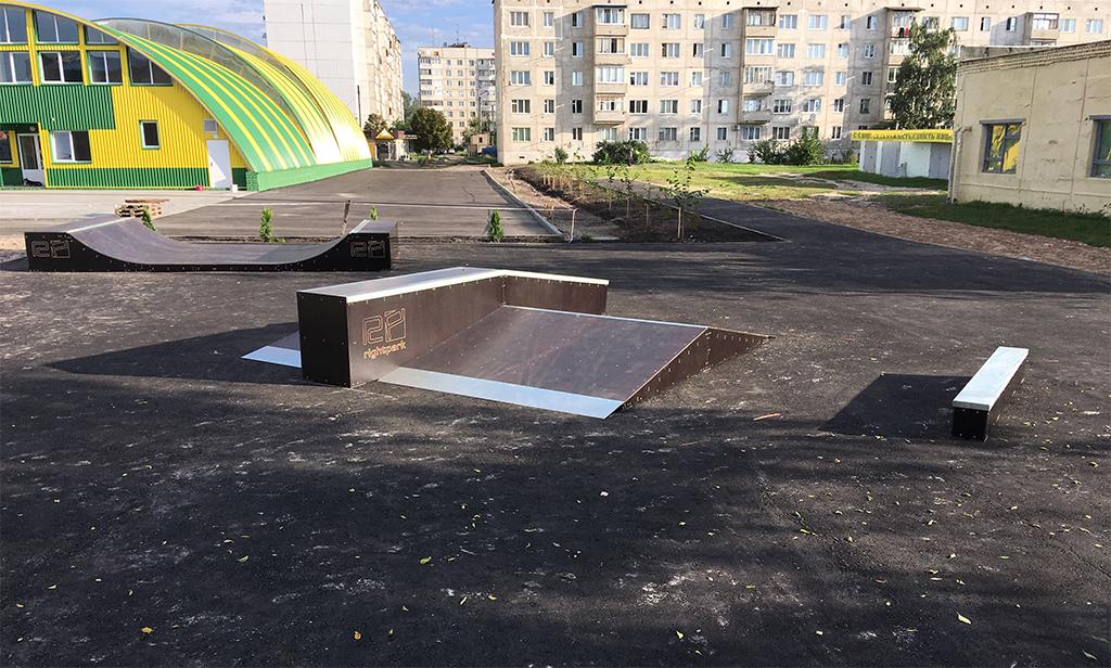Скейт-парк Волчанск - 1