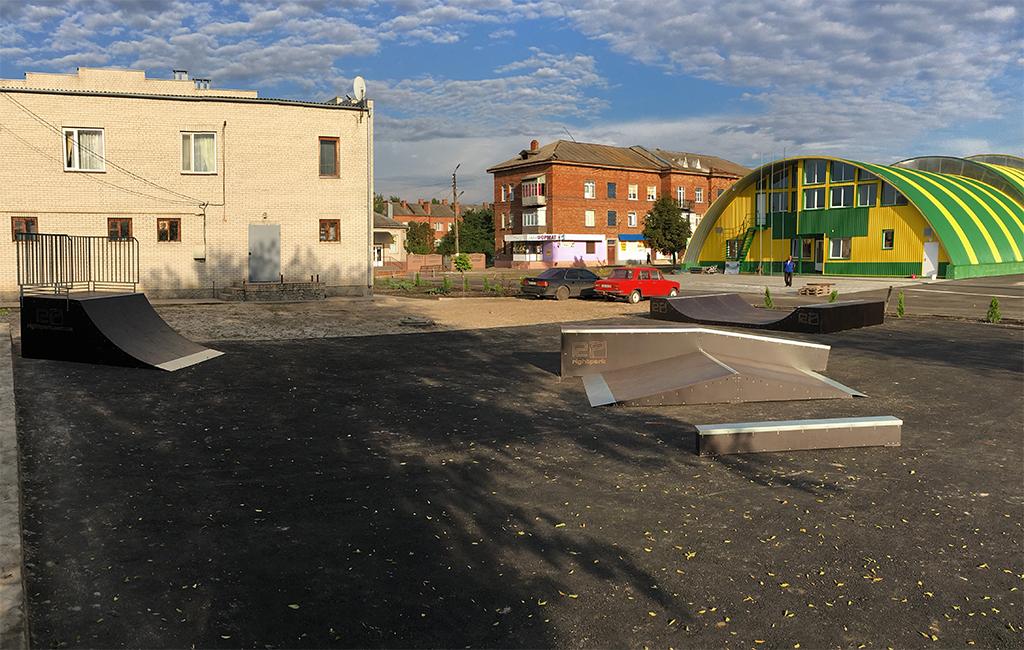 Скейт-парк Волчанск - 3