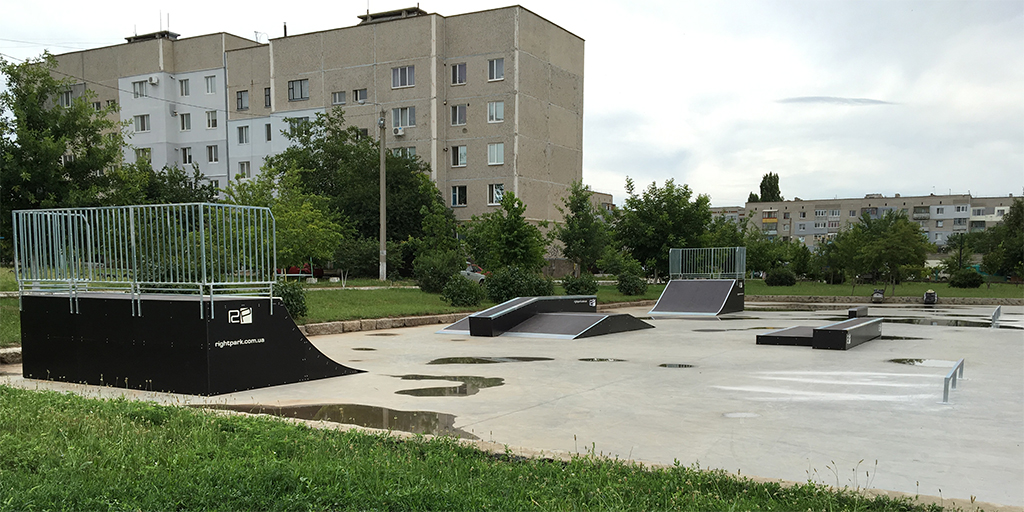 Скейт-парк Вознесенск - 2