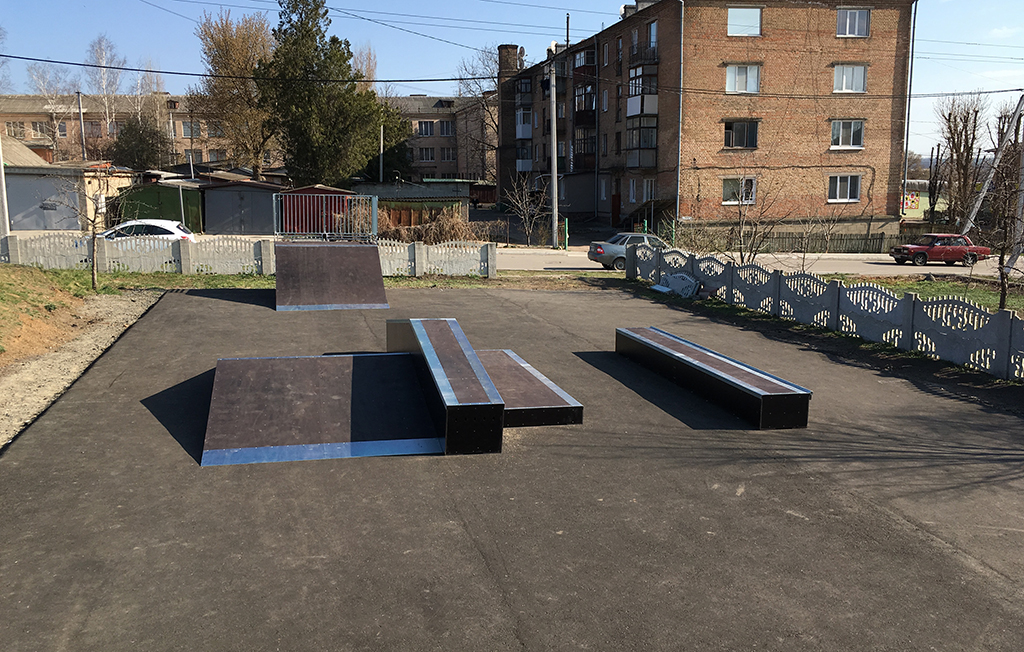 Скейт-парк Новоукраинка