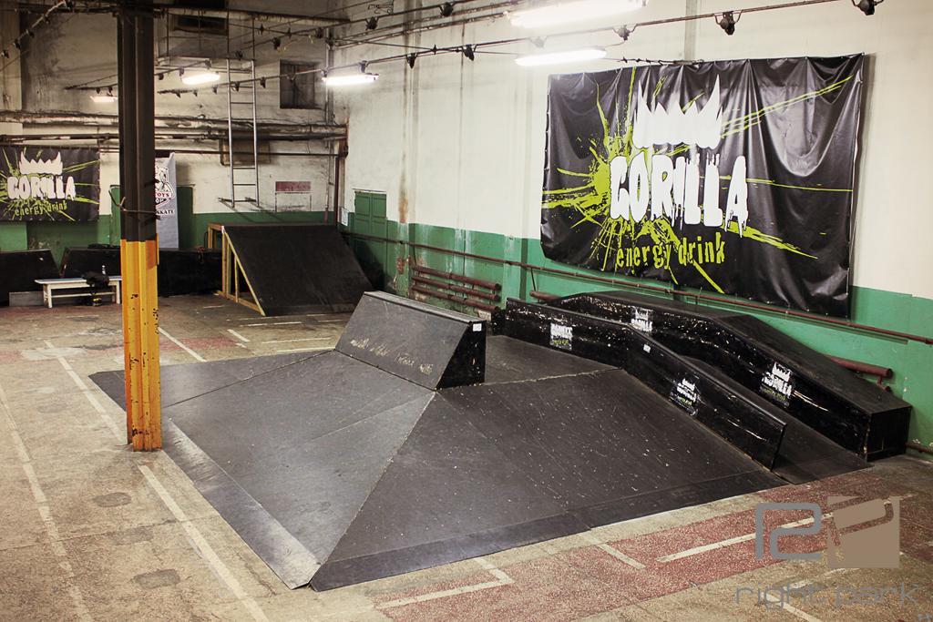 Скейтпарк Gorilla 2012 - 2013