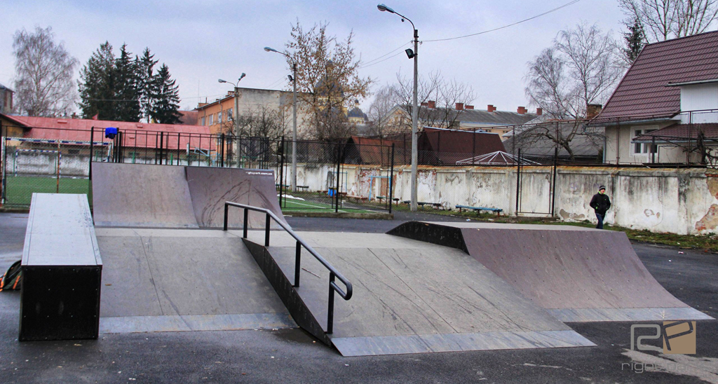 Скейтпарк в Коломыи