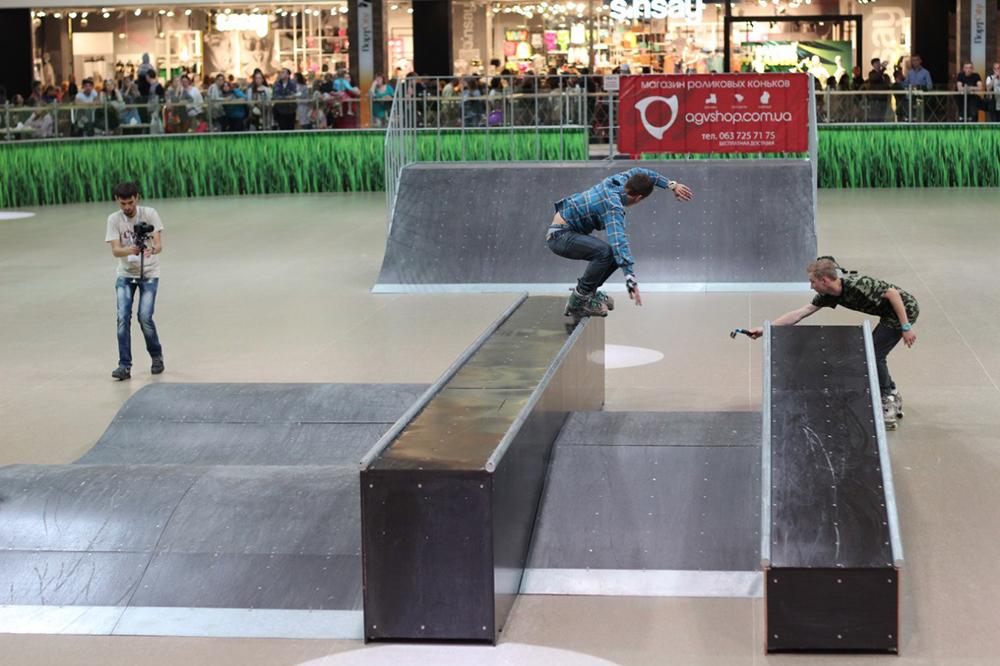 Отчет с открытия скейт-парка для роллердрома ТРЦ Порт City Луцк - 10