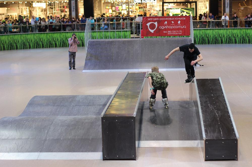 Отчет с открытия скейт-парка для роллердрома ТРЦ Порт City Луцк - 11