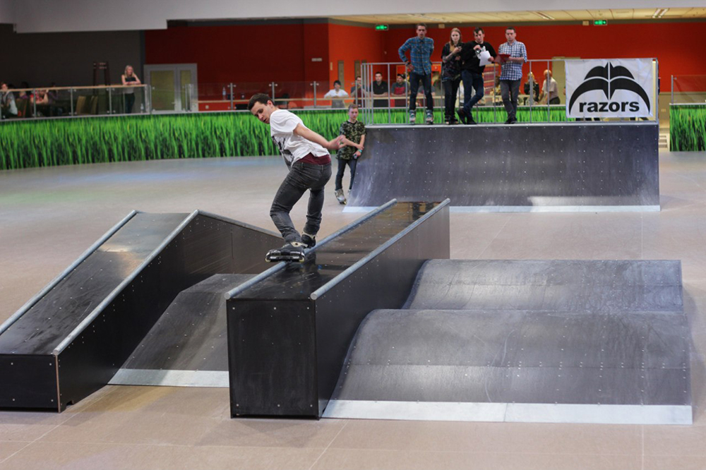 Отчет с открытия скейт-парка для роллердрома ТРЦ Порт City Луцк - 12