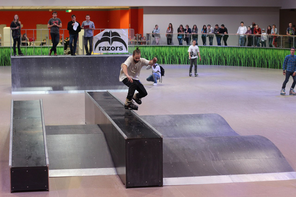 Отчет с открытия скейт-парка для роллердрома ТРЦ Порт City Луцк - 14