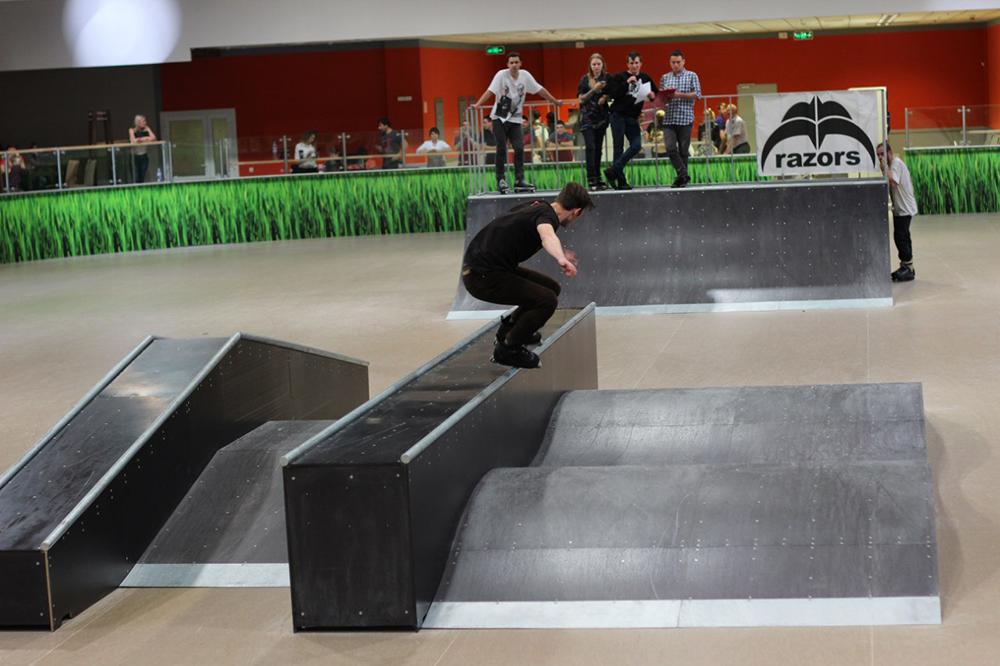 Отчет с открытия скейт-парка для роллердрома ТРЦ Порт City Луцк - 15