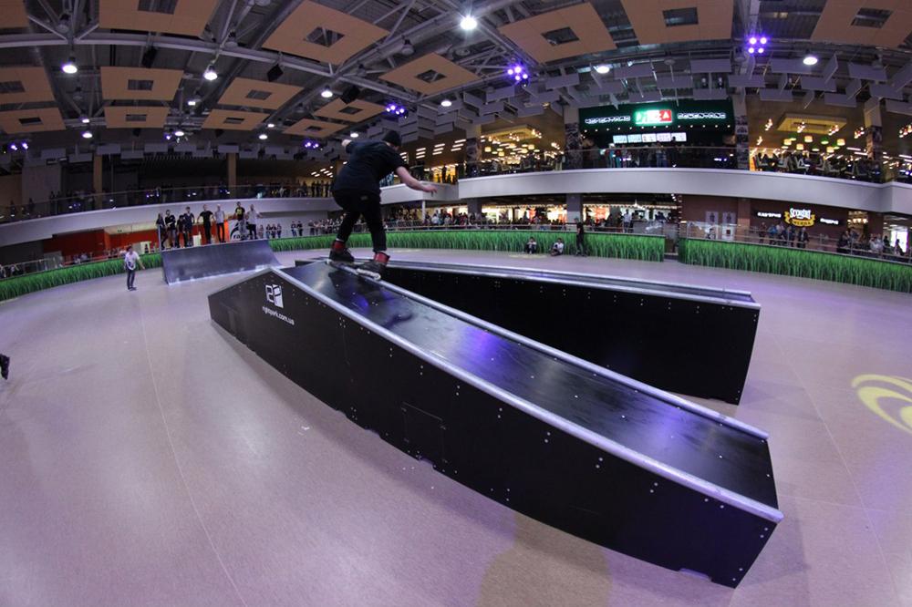 Отчет с открытия скейт-парка для роллердрома ТРЦ Порт City Луцк - 18