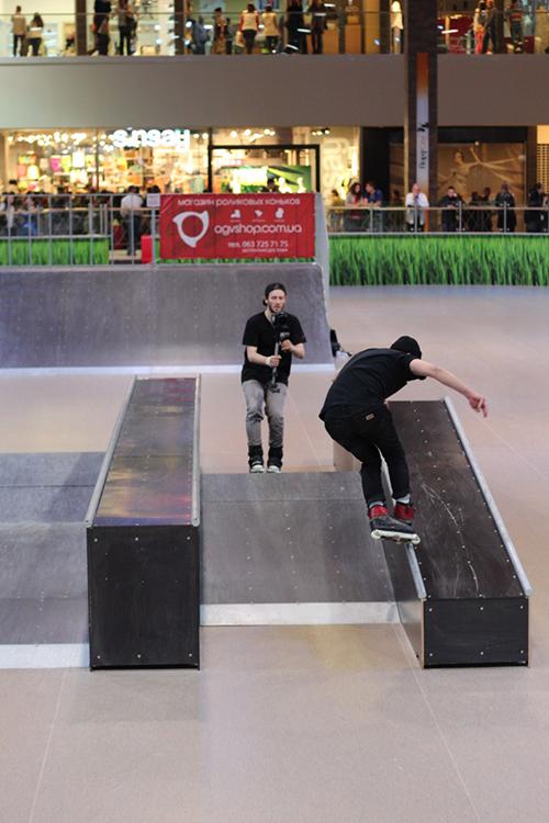 Отчет с открытия скейт-парка для роллердрома ТРЦ Порт City Луцк - 2
