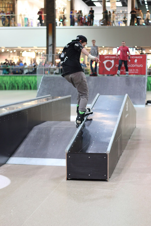 Отчет с открытия скейт-парка для роллердрома ТРЦ Порт City Луцк - 5