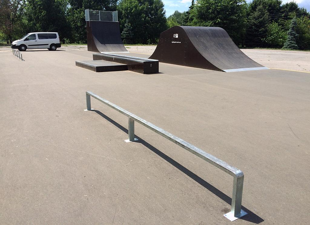 Скейт-парк Бровары 4