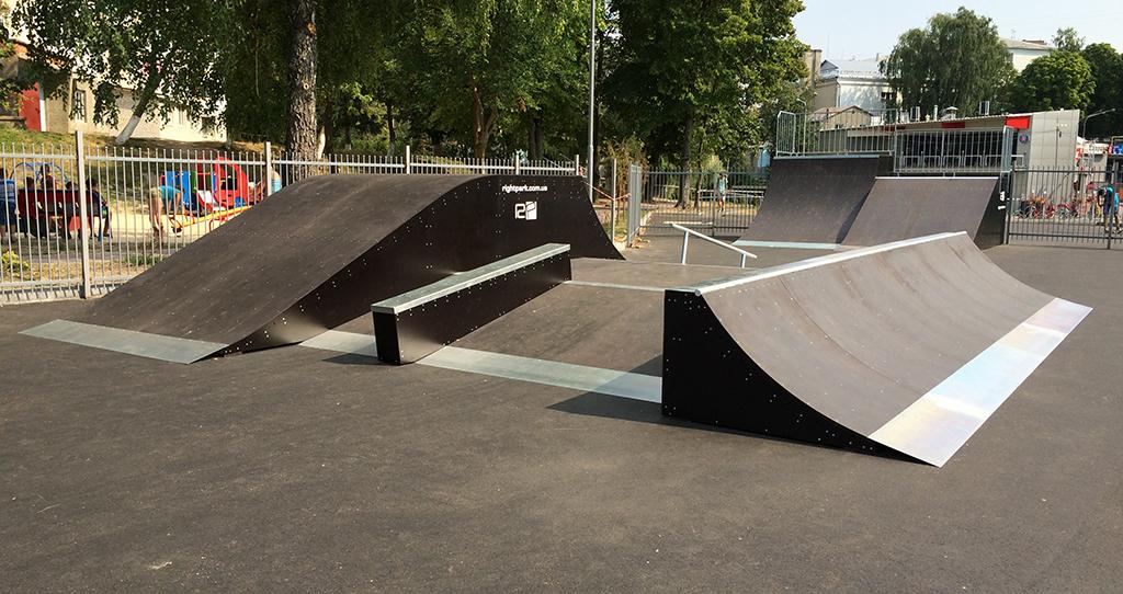Скейт-парк ТРК Сити Парк Луцк 7