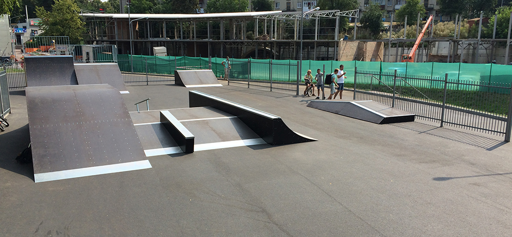 Скейт-парк ТРК Сити Парк Луцк 9