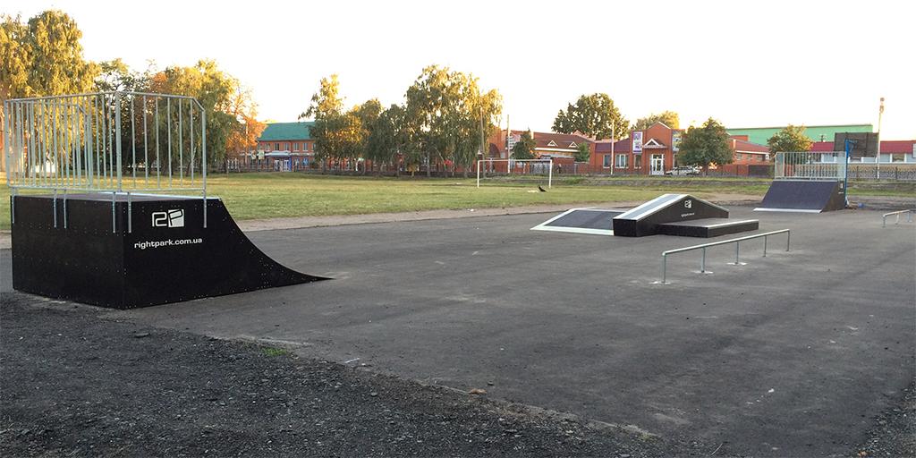 Скейт-парк Лубны - 1