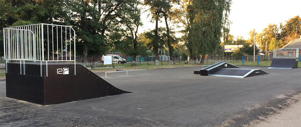 Скейт-парк Лубны - 2