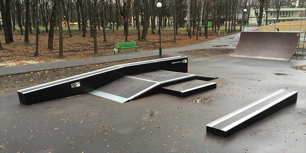 Реконструкция скейт-парка в парке Горького Харьков - 1
