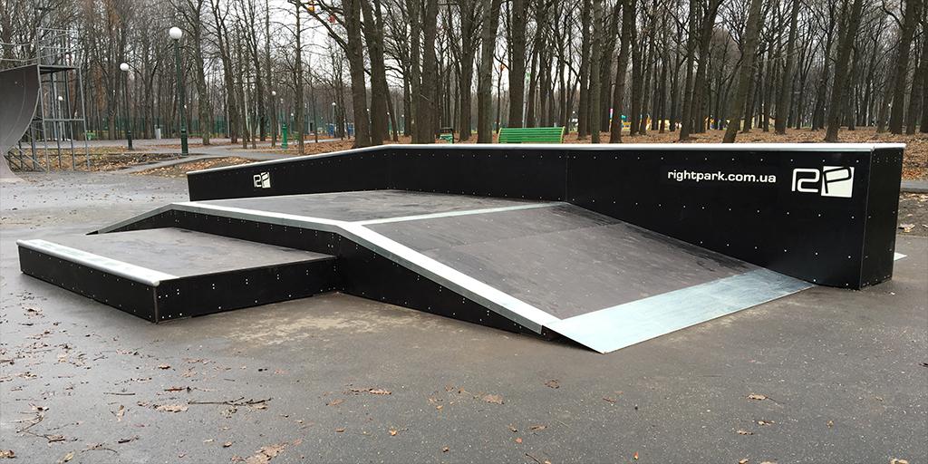 Реконструкция скейт-парка в парке Горького Харьков - 10