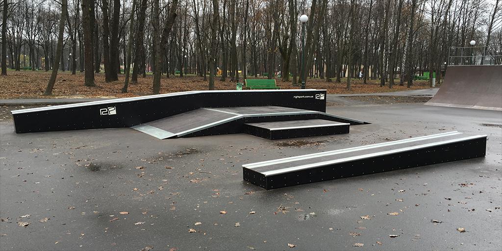 Реконструкция скейт-парка в парке Горького Харьков - 6