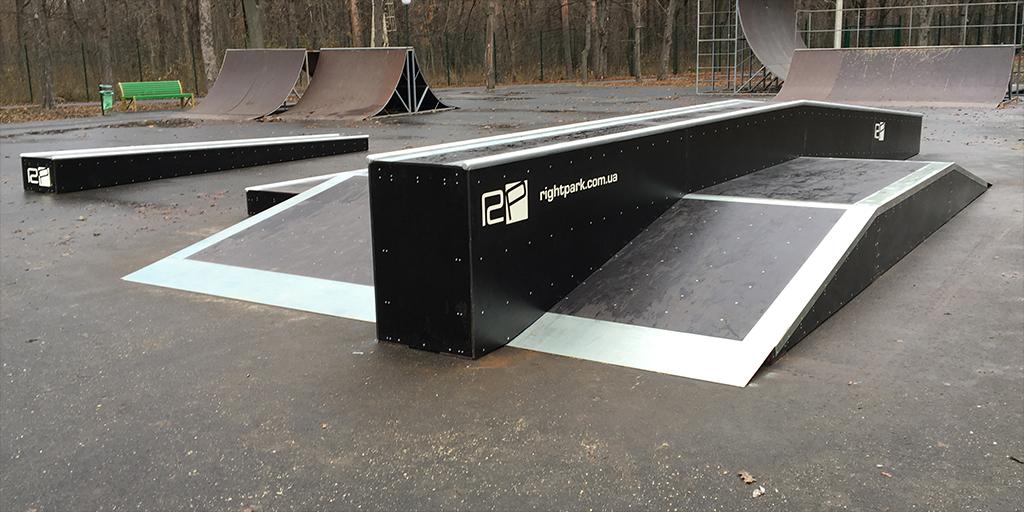 Реконструкция скейт-парка в парке Горького Харьков - 8
