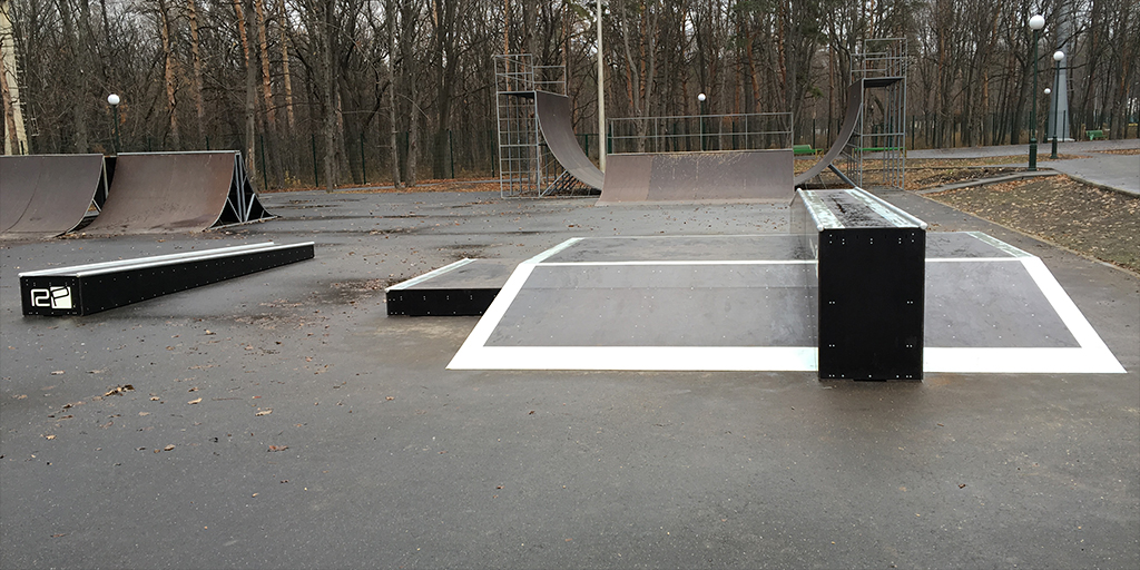 Реконструкция скейт-парка в парке Горького Харьков - 9