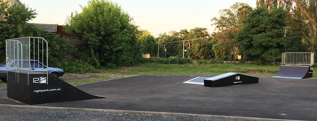 Скейт-парк Миргород - 2