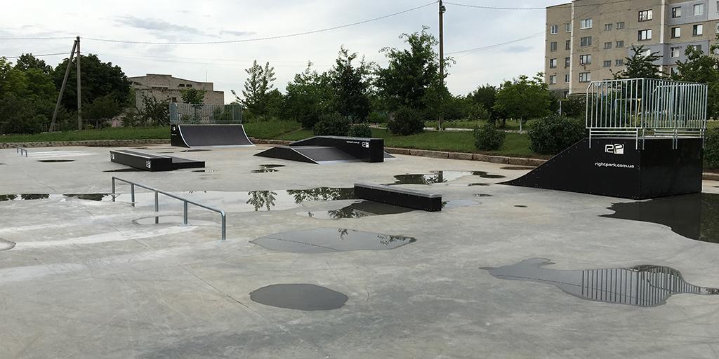 Скейт-парк Вознесенск - 1