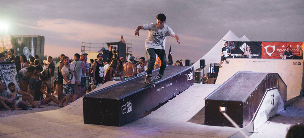 Z-Games 2016: Минирампа и скейт-парк