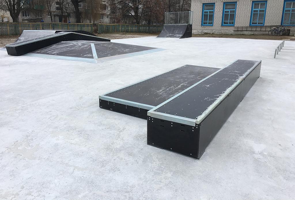 Скейт-парк Корюковка