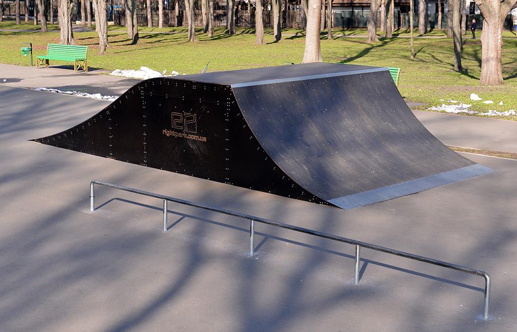 скейт-парк в парке Горького, Харьков