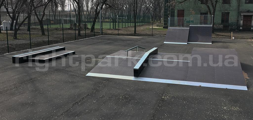 Скейт-парк Доброполье