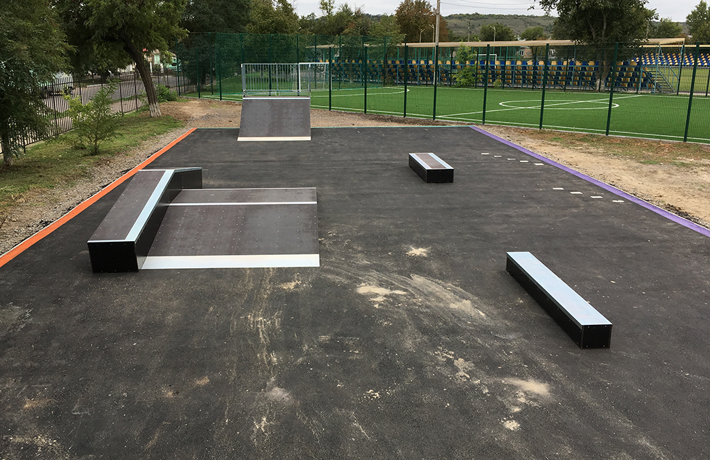Скейт-парк Березовка