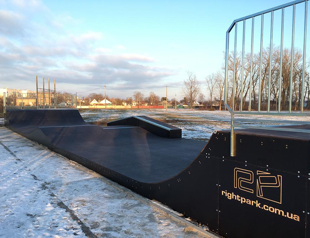 Скейт-парк Барышевка